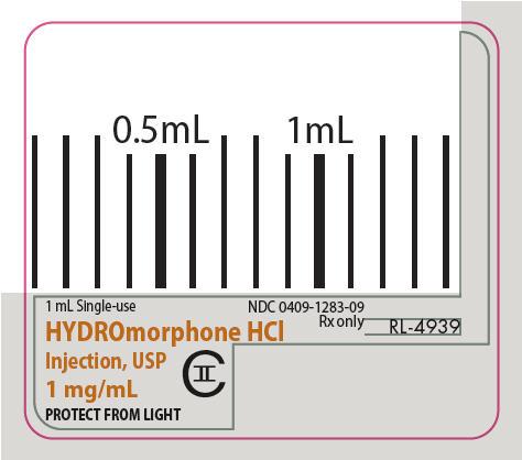 PRINCIPAL DISPLAY PANEL - 1 mg/mL Syringe Label