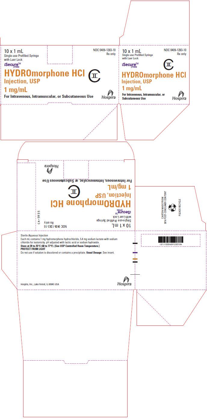 PRINCIPAL DISPLAY PANEL - 1 mg/mL Syringe Box