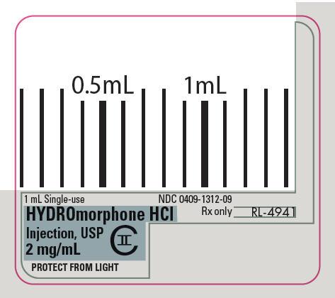 PRINCIPAL DISPLAY PANEL - 2 mg/mL Syringe Label