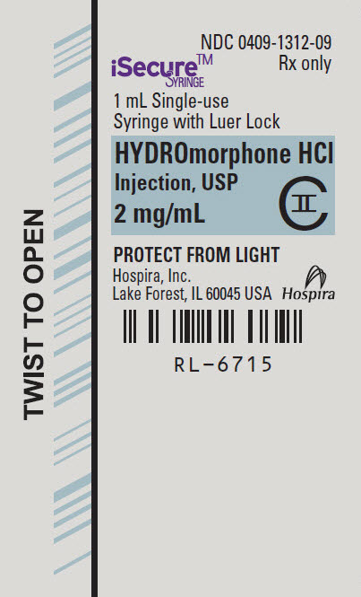 PRINCIPAL DISPLAY PANEL - 2 mg/mL Syringe Label - 6715