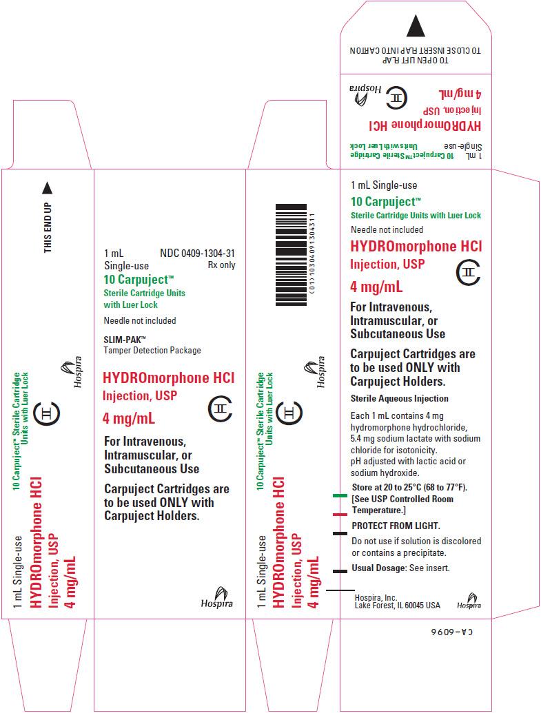 PRINCIPAL DISPLAY PANEL - 4 mg/mL Cartridge Box