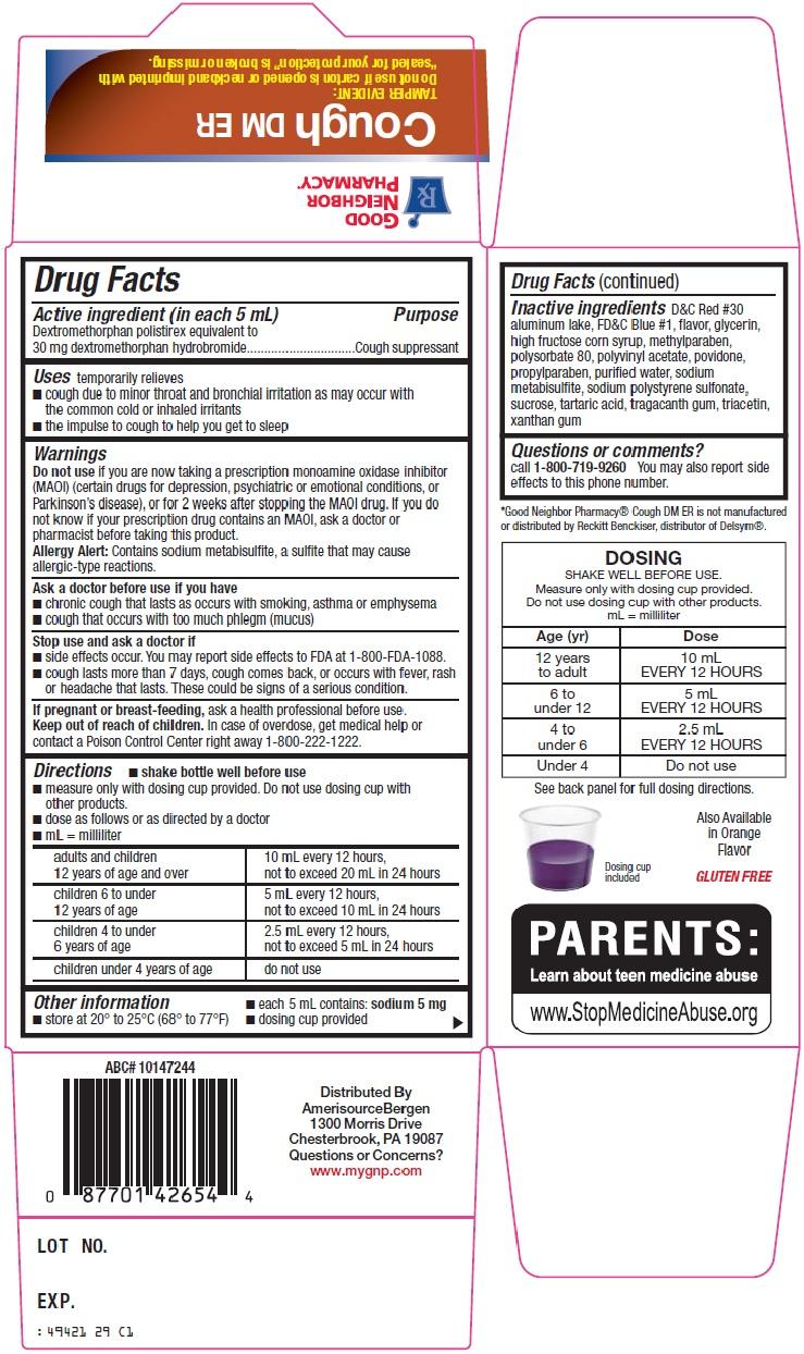 Good Neighbor Pharmacy Cough DM ER image 2