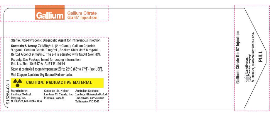 PRINCIPAL DISPLAY PANEL - 2 mCi/mL Vial Label