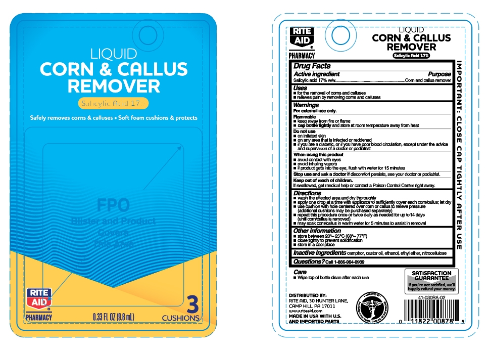 liquid corn & callus remover