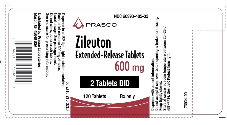 Zileuton Extended-Release Tablets