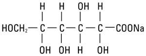 structural formula sodium gluconate