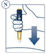 Figure N: insert the needle