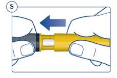 Figure S: Put the cap on your Pen.