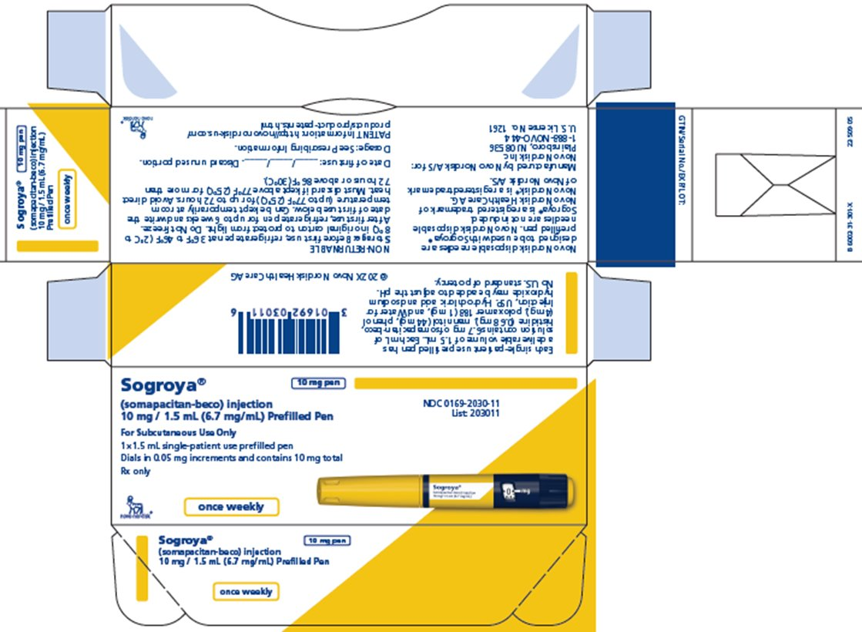 Image of 10 mg carton