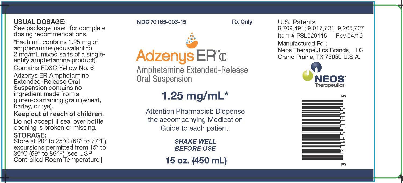 1.25 mg/mL Principal Display Panel