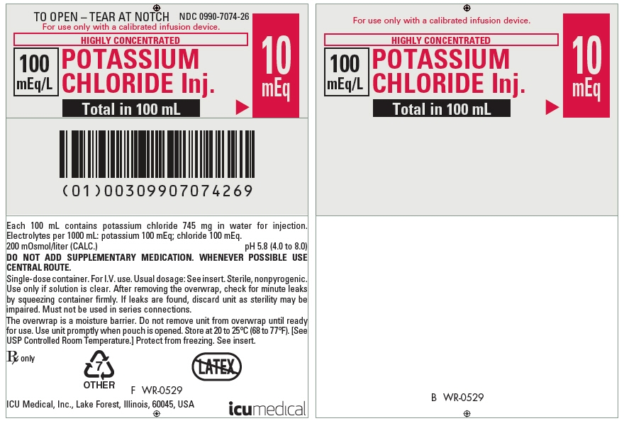 PRINCIPAL DISPLAY PANEL - 100 mL Bag Pouch Label