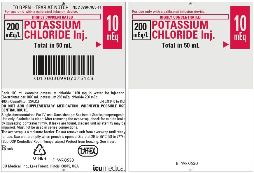 PRINCIPAL DISPLAY PANEL - 50 mL Bag Pouch Label - WR-0530