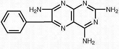 Triamterene Chemical Structure
