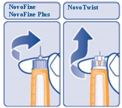 Figure R: Remove the needle.