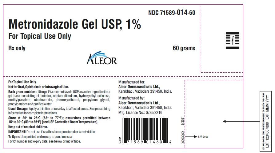 60 g label