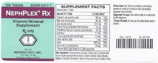 NephPlex Rx label
