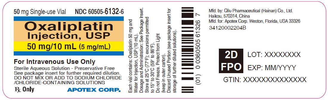 Principal Display Panel - 50 mg/10 mL Vial