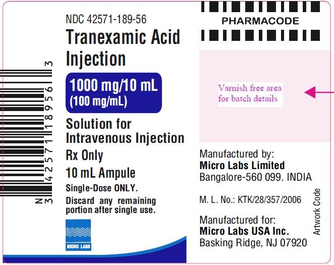 ampule label