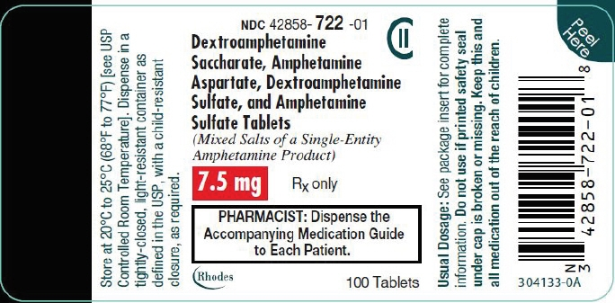 PRINCIPAL DISPLAY PANEL - 7.5 mg Tablet Bottle Label