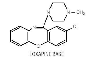 Loxapine Base Structural Formula