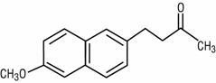 Structural Formula - Nabumetone