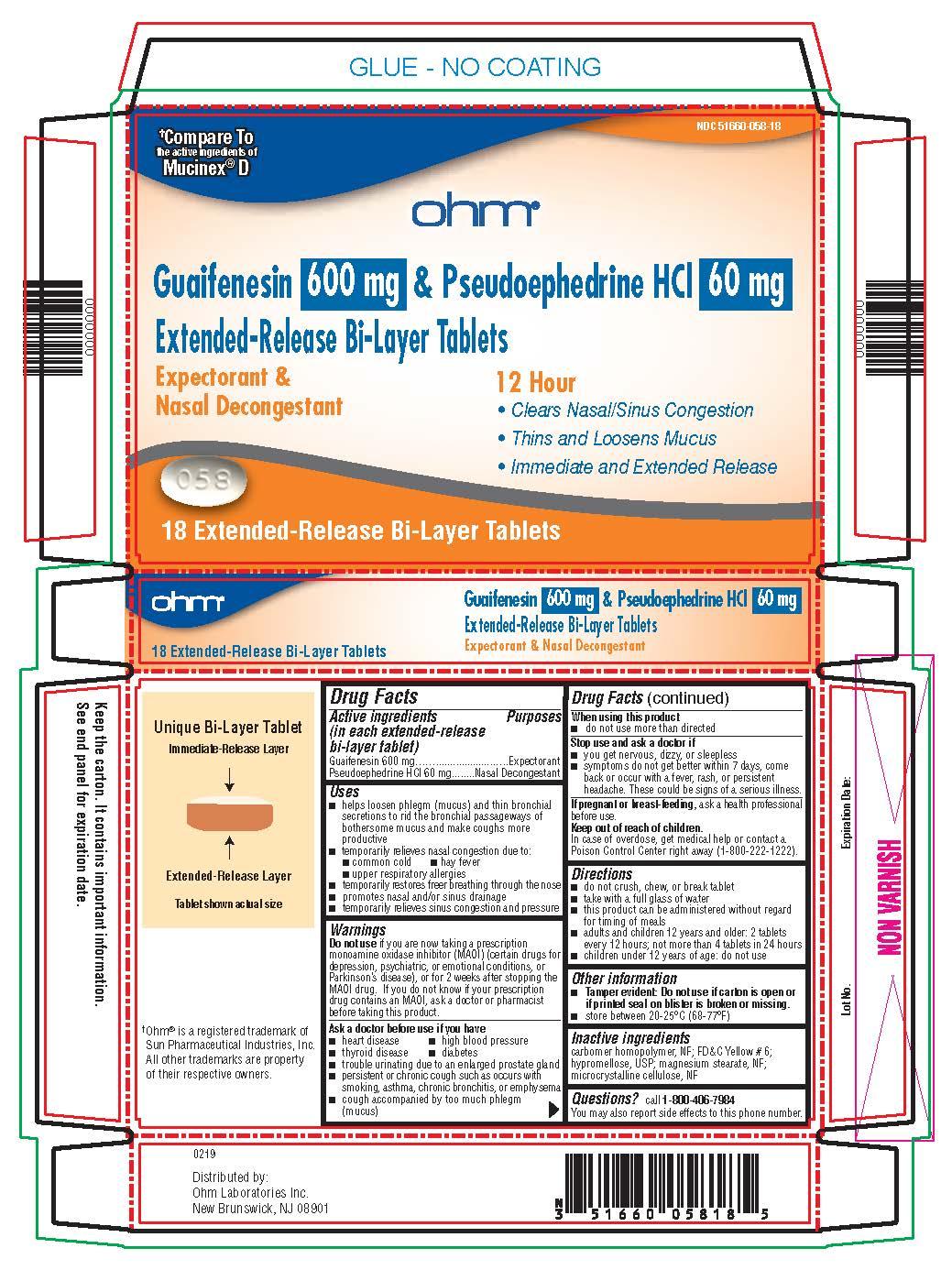 600 mg/60 mg Carton Label
