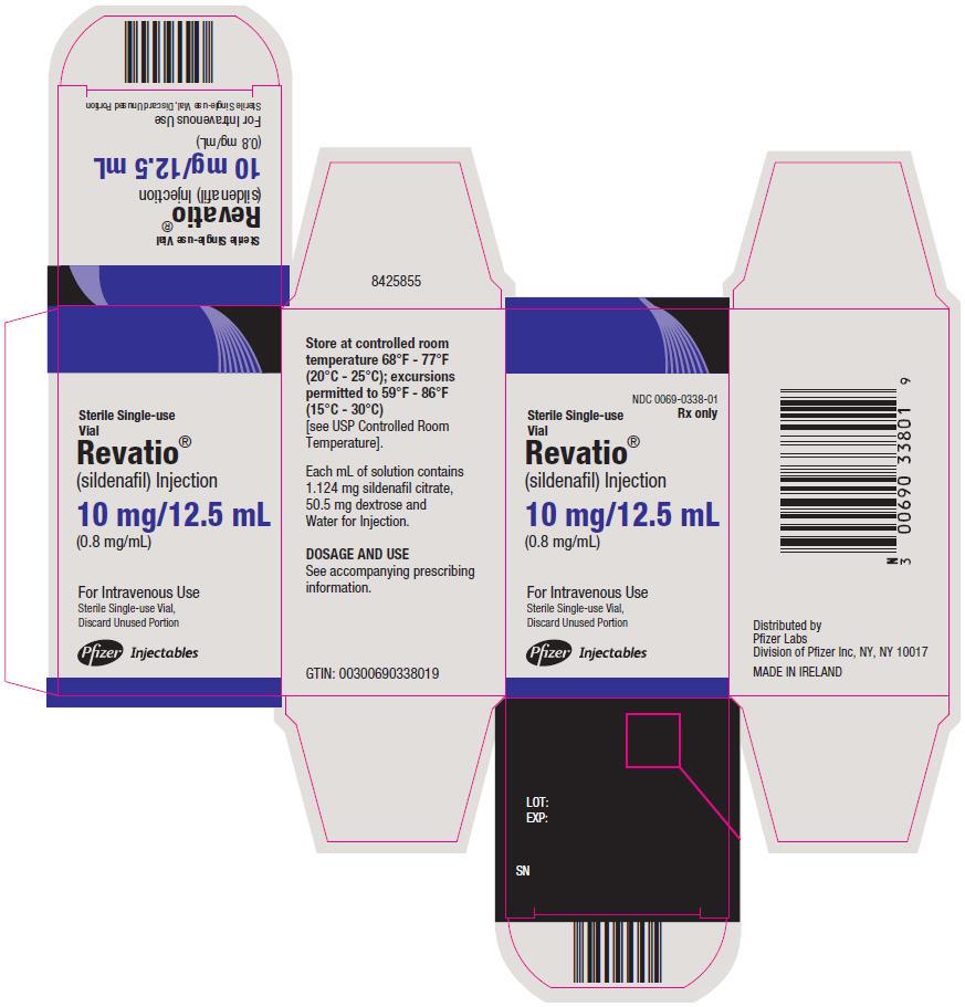 PRINCIPAL DISPLAY PANEL - 10 mg/12.5 mL Vial Carton