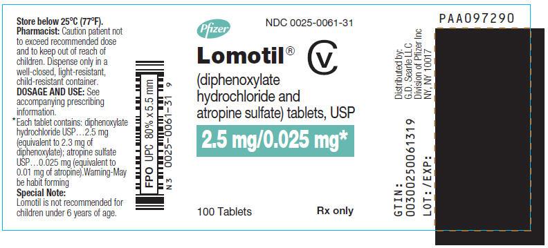 PRINCIPAL DISPLAY PANEL - 2.5 mg/0.025 mg Tablet Bottle Label