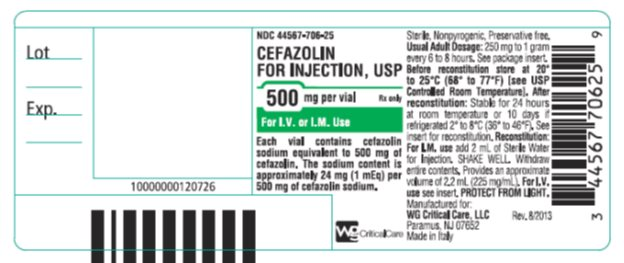 500 MG VIAL LABEL