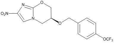 Pretomanid Structural Formula