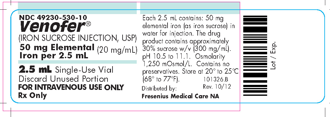 2.5 mL Container Label (FMC)