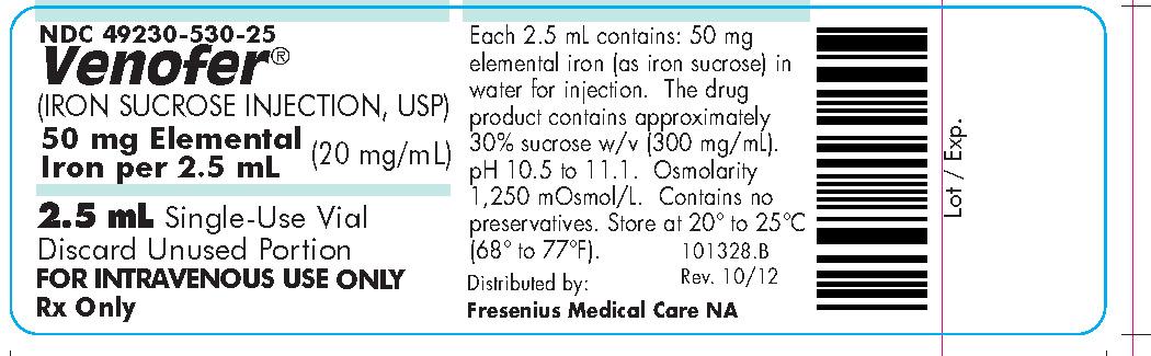 2.5 mL Carton Labeling (25 pack) Fresenius