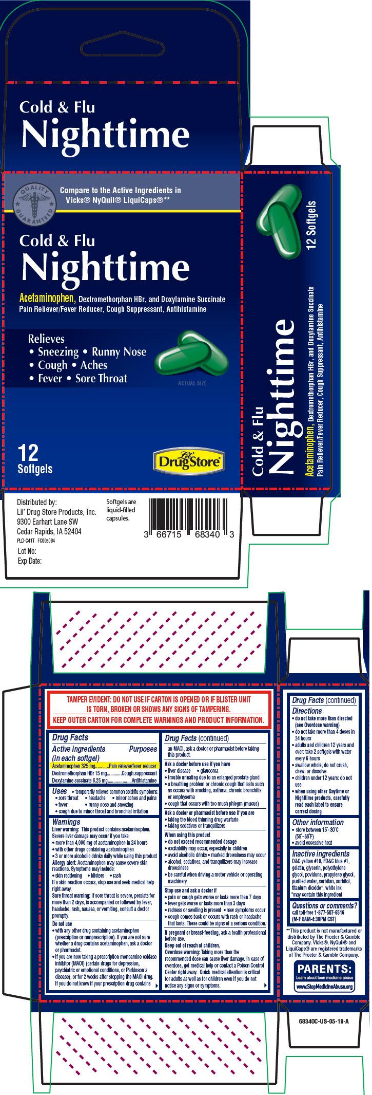 Principal Display Panel - 12 Softgel Blister Pack Carton - 66715-6734