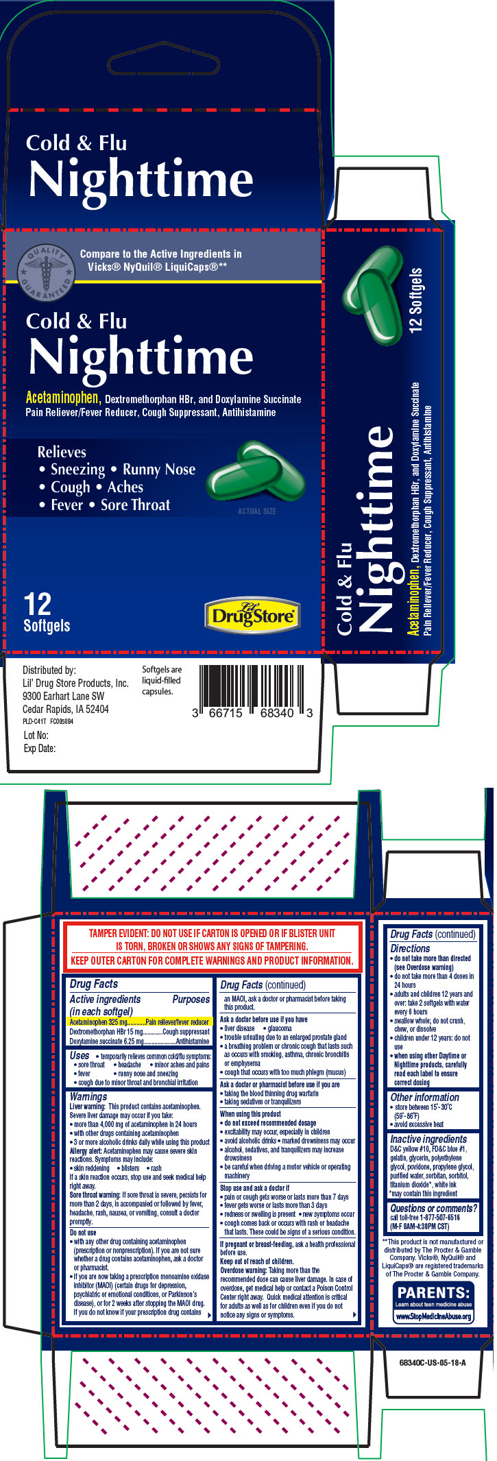 Principal Display Panel - 12 Softgel Blister Pack Carton - 66715-6849