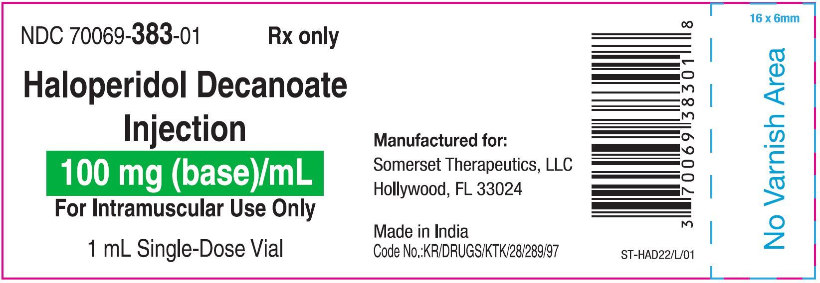 vial label 1 ml