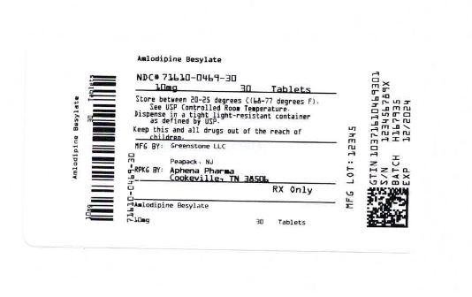 Bottle Label 10 mg