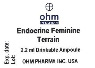 Ampoule label