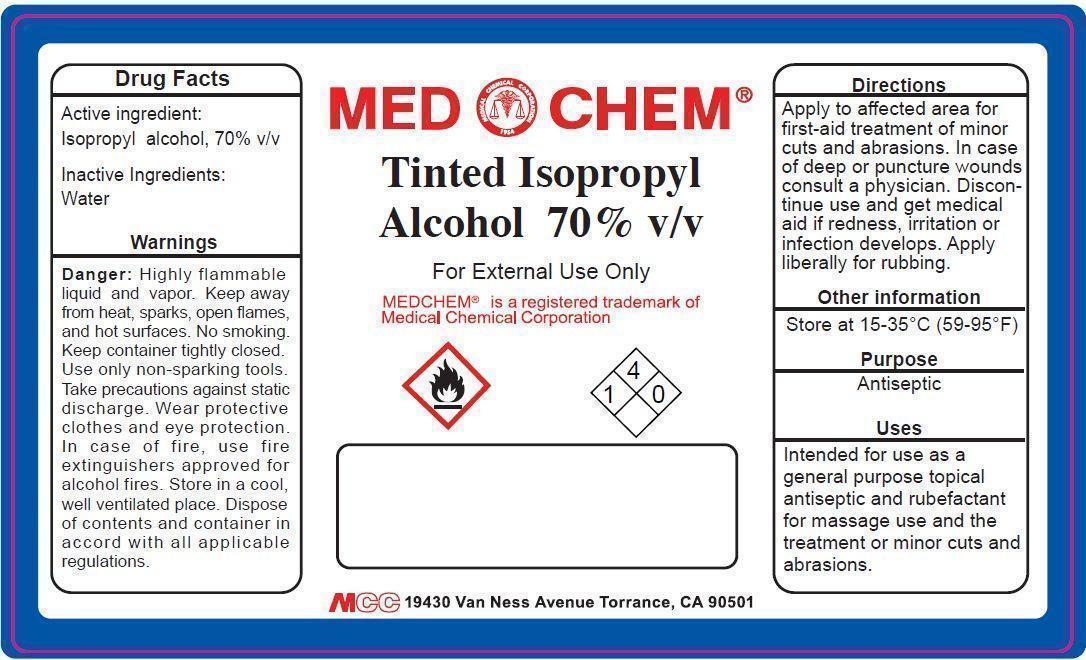 Tinted IPA Label