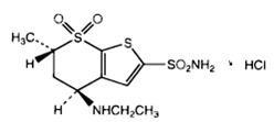 dorzolamide structure