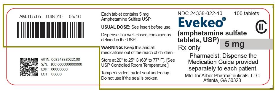 PRINCIPAL DISPLAY PANEL - 5 mg Tablet Bottle Label