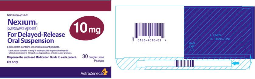 Nexium 10 mg 30 single dose packets