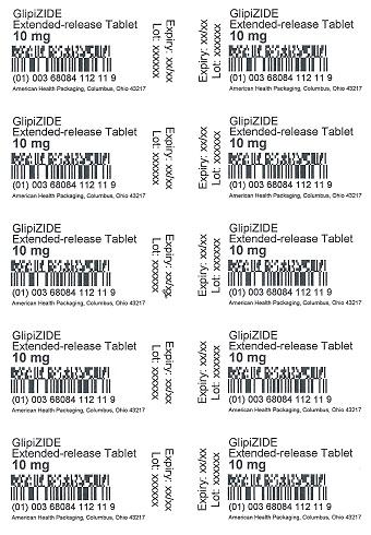10 mg Glipizide ER Tablet Blister