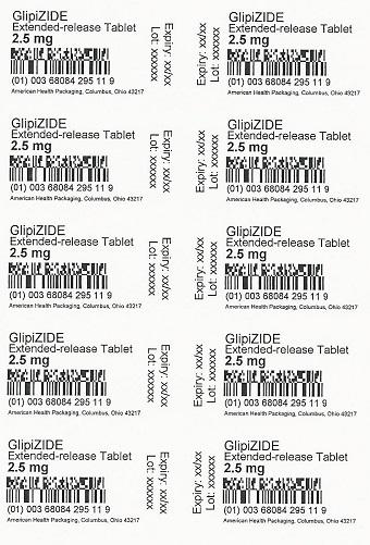 2.5 mg Glipizide ER Tablet Blister