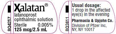 PRINCIPAL DISPLAY PANEL - 2.5 mL Bottle Label