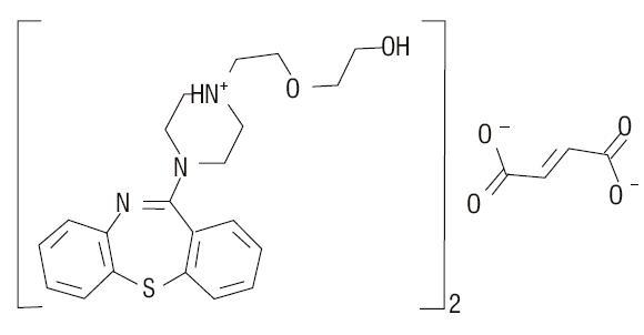 quetiapine-structure