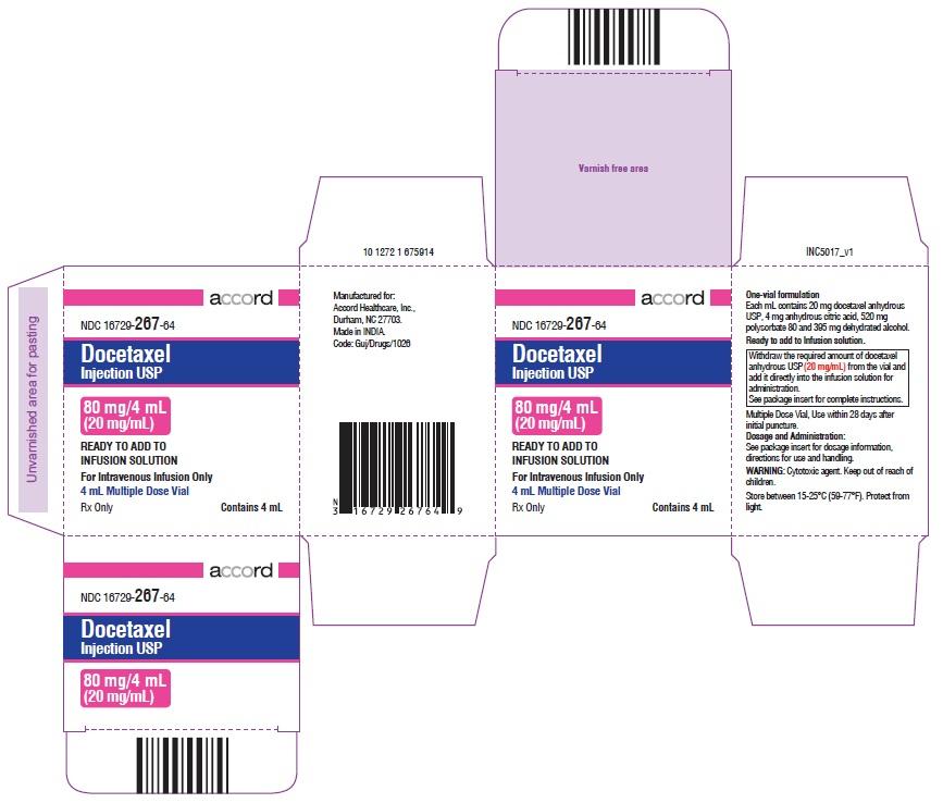 PACKAGE LABEL-PRINCIPAL DISPLAY PANEL - Carton 80 mg/4 mL