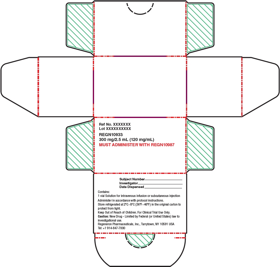 PRINCIPAL DISPLAY PANEL - 300 mg/2.5 mL Modified Vial Carton - REGN10933