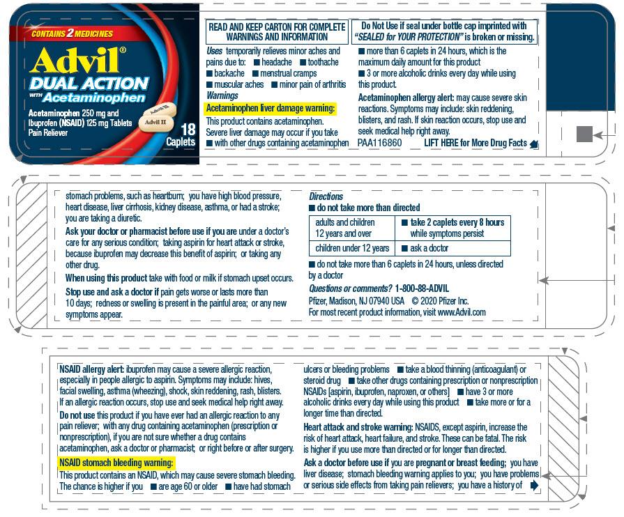 PRINCIPAL DISPLAY PANEL - 18 Caplet Bottle Label