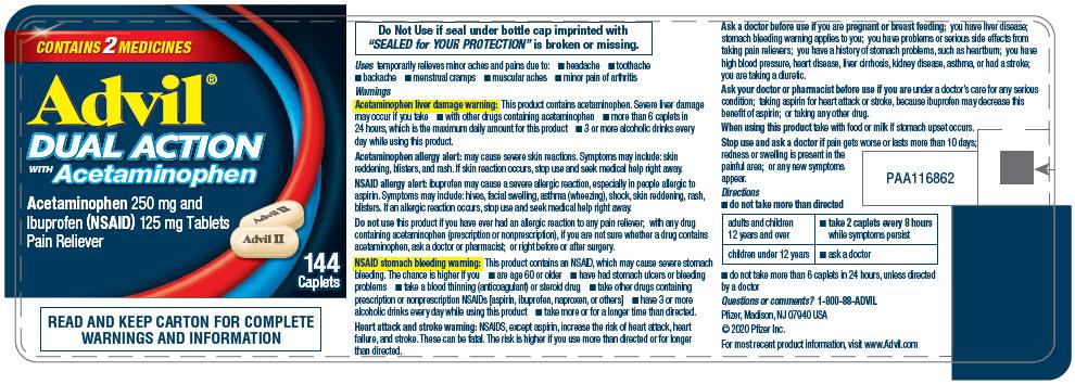 PRINCIPAL DISPLAY PANEL - 144 Caplet Bottle Label