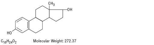 Estradiol Structural Formula